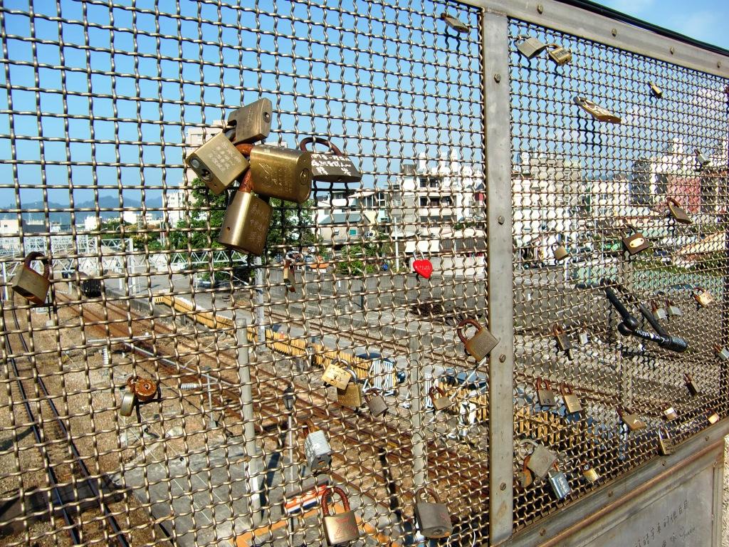 Love Lock in Fengyuan, wish locks