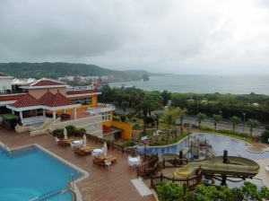 View from our room at the Fullon Resort Kenting
